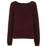 Buy Warehouse Rib Block Jumper online at John Lewis
