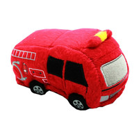 """Fire Truck Squeaky 5"""" Dog Toy"""