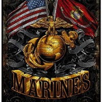 Marines Flags Sign