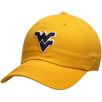 Men's Top of the World Gold West Virginia Mountaineers Solid Crew Adjustable Hat