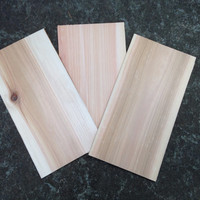 "Cedar BBQ Grill Planks 10"" x 5"" x 1/4""  Set of 5 Smoked Salmon"