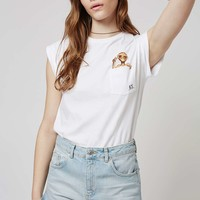 ET Pocket Tee by Tee and Cake - Topshop