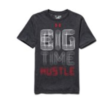 Under Armour Boys' UA Big Time Hustle T-Shirt