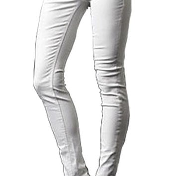 Affliction Bianca Disco A White Denim Pants