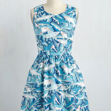 Land Before Sublime Dress in Sharks