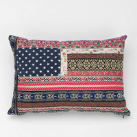 Magical Thinking Boho Flag Pillow
