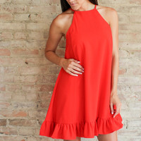 Amelie Trapeze Dress