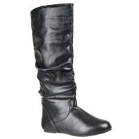 Bamboo Womens Rebeca Slouchy Fashion Boots