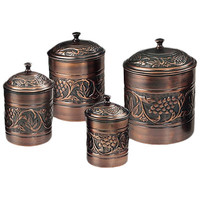Old Dutch Antique Heritage Canister (Set of 4)
