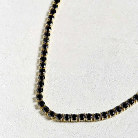 King Ice Single Row Tennis Necklace | Urban Outfitters