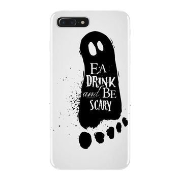 eat drink and be scary 2 iPhone 7 Plus Case