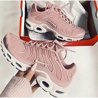 Nike Air Max Plus 97 Trending Women Stylish Casual Pink Air Cushion Sports Running Shoe Sneakers I-CSXY