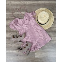 Selfie Leslie - Let's Mauve It Romper