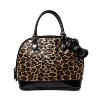 Hello Kitty® Embossed Handbag in Black Brown | Shi by Journeys