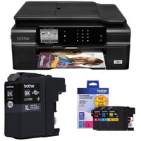 Brother MFC-J870DW Wireless Color Inkjet All-In-One with Scanner, Copier and Fax Printer