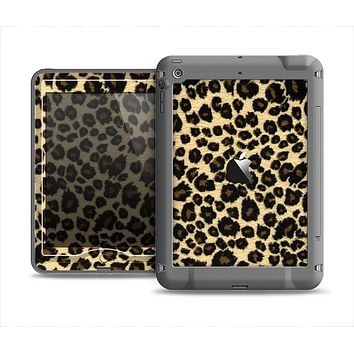 The Small Vector Cheetah Animal Print Apple iPad Air LifeProof Nuud Case Skin Set