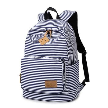 Women Canvas Backpack Teenage Backpacks for Teen Girls Teenagers Bagpack