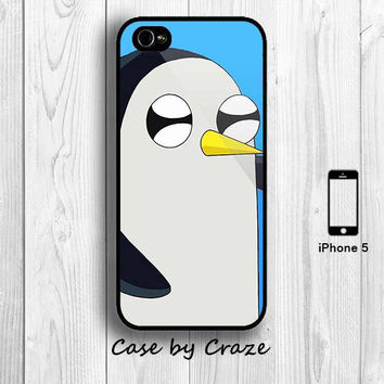 Adventure Time iPhone 4 case Gunter the Penguin by casebycraze