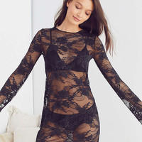 Out From Under Gloria Floral Lace Slip | Urban Outfitters