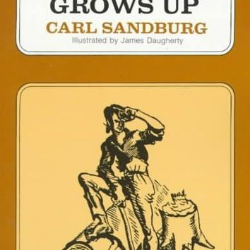 Abe Lincoln Grows Up (Voyager Book, Avb 92): Abe Lincoln Grows Up