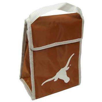 Licensed Texas Longhorns Insulated Lunch Box Lunchbox Bag UT Forever Collectibles KO_19_1