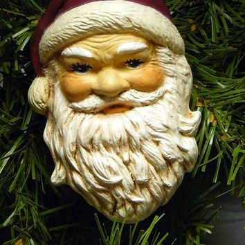 Ceramic Ornament - Good Ole Santa Claus
