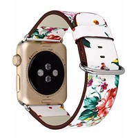 Apple Watch Floral Printed Wrist Band