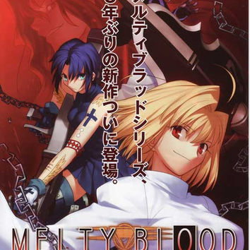 Melty Blood (Japanese) 11x17 Movie Poster (2002)