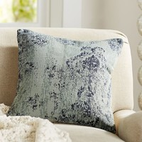 WILLA PRINT DHURRIE PILLOW COVER