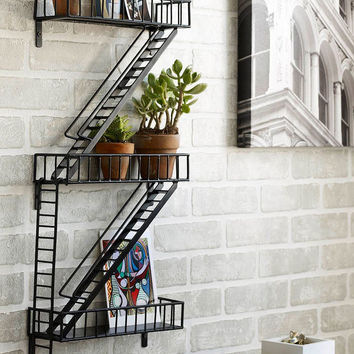 NY Fire Escape Shelf