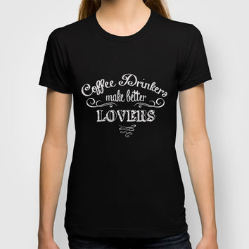 COFFEE T-shirt by Monika Strigel