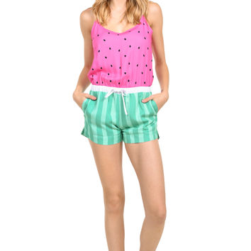 Women's Watermelon Romper