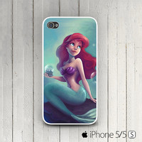 Little Mermaid iPhone 5,5s case, Mermaid iPhone5c case, Ariel Little Mermaid iPhone 4,4s case, Disney iPhone 5s case, Mermaid iPhone 5c case