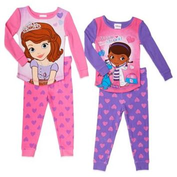 Disney® Sophia the First and Doc McStuffins 4-Piece PJ Set
