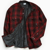 Columbia Windward Plaid Insulated Shirt Jacket | Urban Outfitters