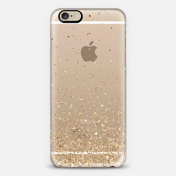 Gold Stars Rain Transparent Iphone 6 Case From Casetify