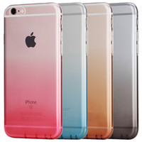 ROCK Irish Series Soft High Quality TPU Silicone Back Cover  Case For Apple iPhone 6 Plus /6s Plus  5.5