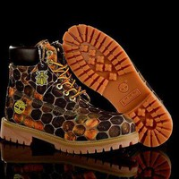DCCKBE6 Timberland Rhubarb Boots Hive Yellow Waterproof Martin Boots