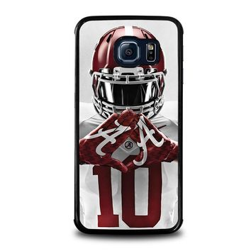 alabama tide bama football samsung galaxy s6 edge case cover  number 1