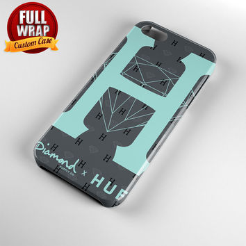 Diamond Supply Co X Huf Full Wrap Phone Case For iPhone, iPod, Samsung, Sony, HTC, Nexus, LG, and Blackberry