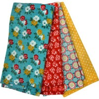 Pioneer Woman, Spring Floral 4 pack Kitchen Towel set - Walmart.com