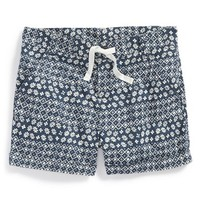 Girl's Tucker + Tate 'Clover' Patchwork Shorts,