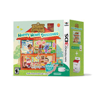 Animal Crossing: Happy Home Designer w/ NFC Reader - Nintendo 3DS (New)