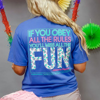 Jadelynn Brooke: If You Obey All the Rules, You Miss All the Fun {Flo Blue}