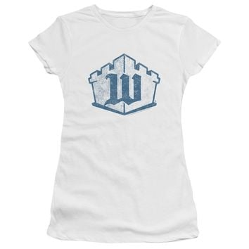 White Castle - Monogram Premium Bella Junior Sheer Jersey
