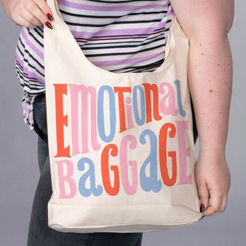 Emotional Baggage Slouchy Bag