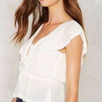 Given to Fly Ruffle Top