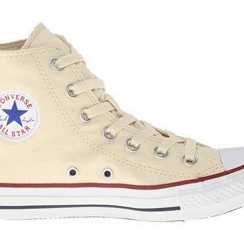CONVERSE CHUCK TAYLOR ALL STAR HI TOP UNBLEACHED WHITE