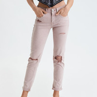 AE Denim X Tomgirl Pant, Light Pink