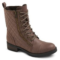 Women's Carmen Quilted Ankle Combat Boots : Target